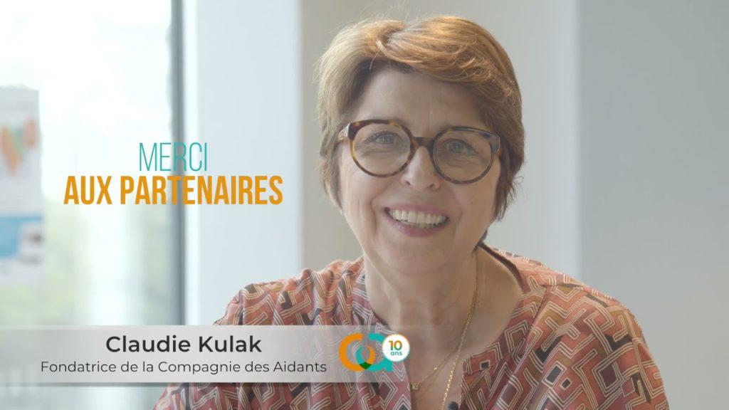 claudie kulak - la compagnie des aidants a 10 ans